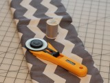 How To Make A Chevron Wedding Table Runner