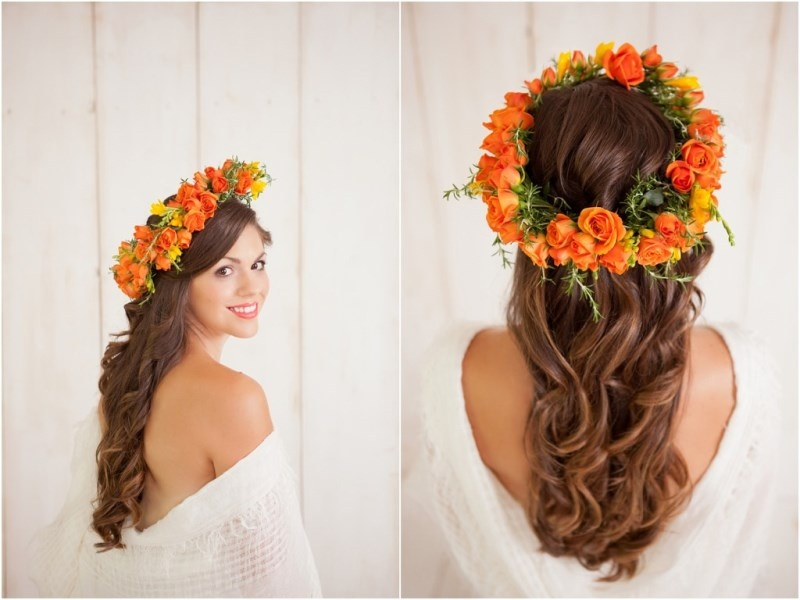 Picture Of how to make your curls last all wedding day long  2