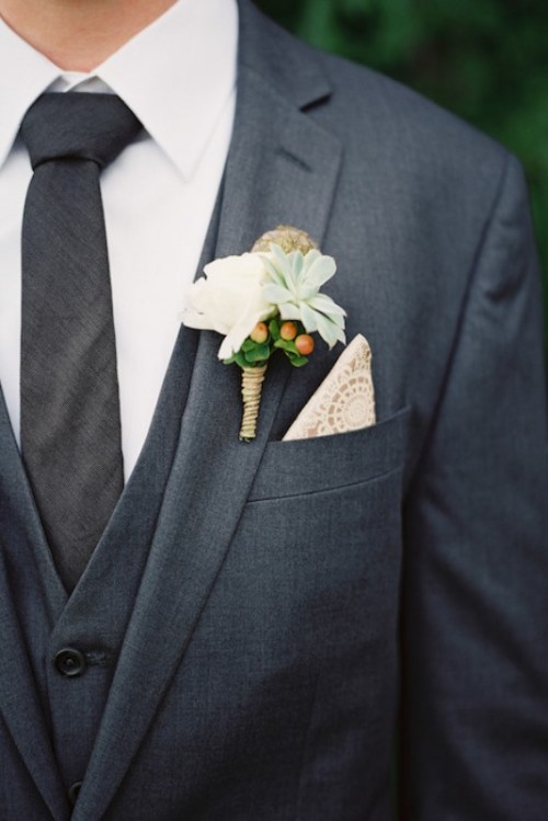How To Style Groom's Pocket Squares: 30 Amazing Ideas