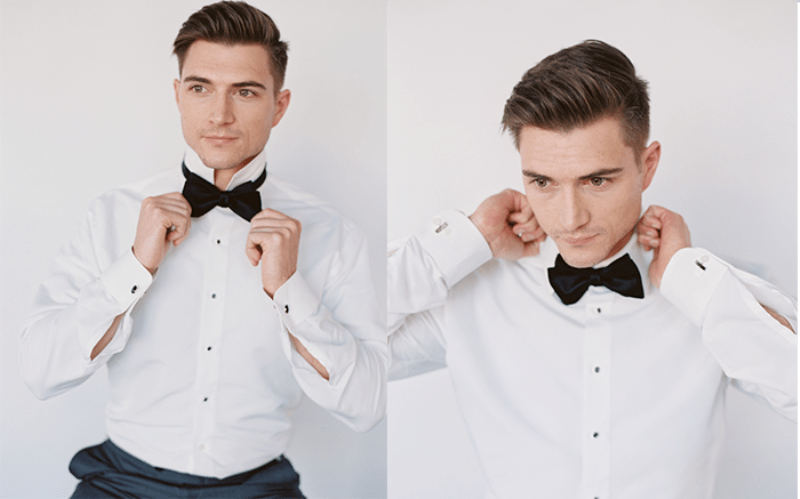 Picture Of how to tie a bow tie easily  2