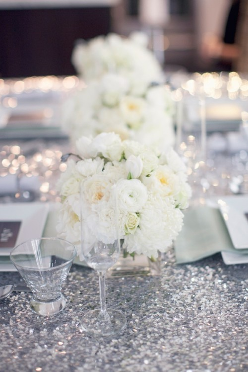 How To Use Sequins In Your Wedding Decor Ideas