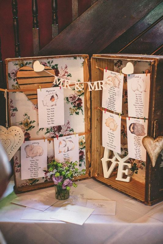 Picture Of how to use vintage suitcases in your wedding decor 30 clever ideas  5
