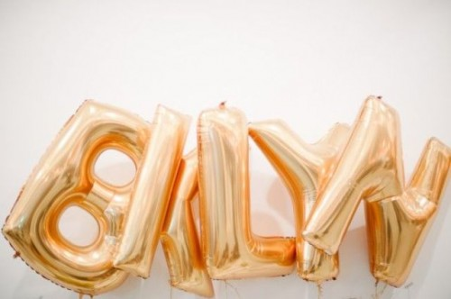 The Hottest Wedding Trend: 22 Huge Letter Balloons Ideas