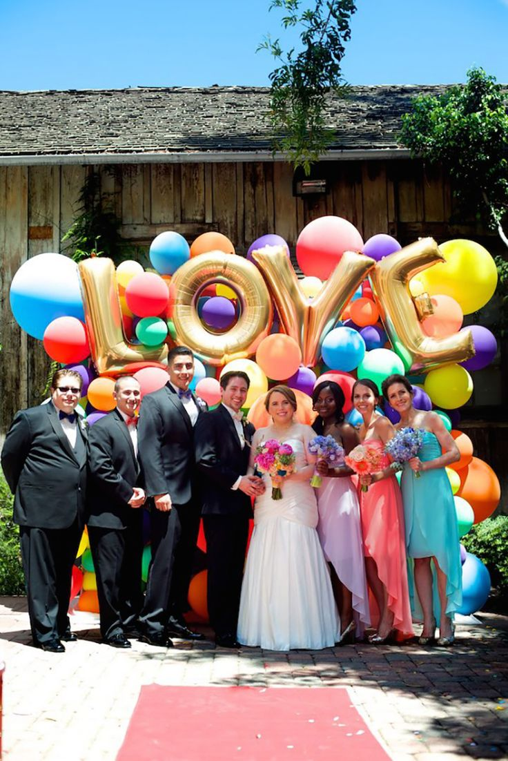 Picture Of huge letter balloons ideas  21
