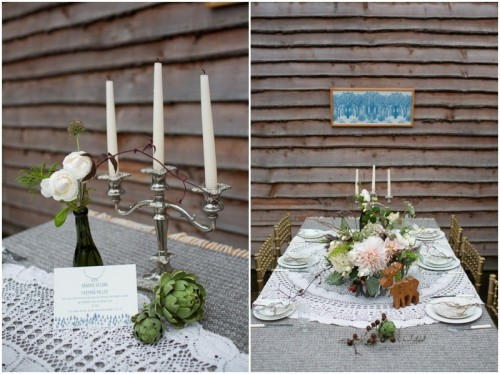 Incredible Vintage Woodland Winter Wedding Inspiration