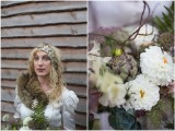 Incredible Vintage Woodland Winter Wedding Inspiration