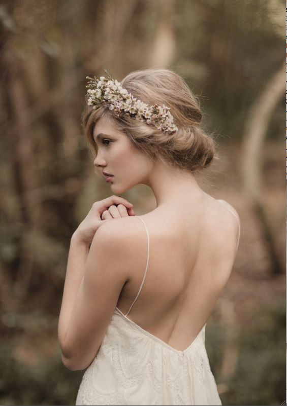 Picture Of incredibly beautiful boho chic bridal hair ideas  15