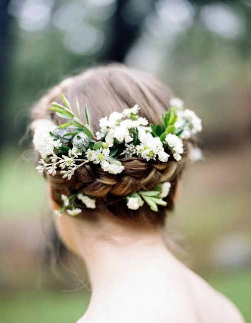Picture Of incredibly beautiful boho chic bridal hair ideas  35