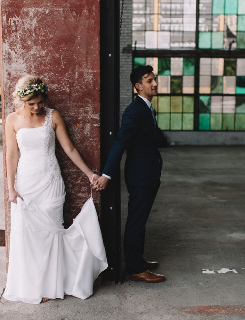 Wedding Dresses Warehouse 79 Perfect Industrial Warehouse Wedding With