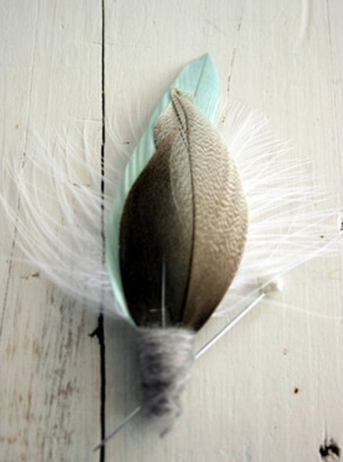 Inspiring Feather Decor Ideas For Your Wedding