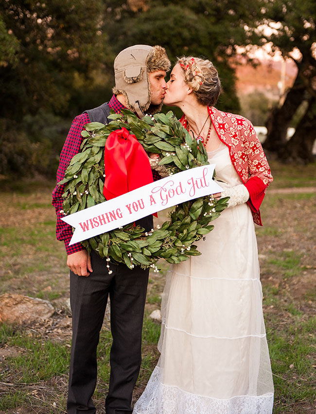Inspiring Swedish Christmas Wedding Theme