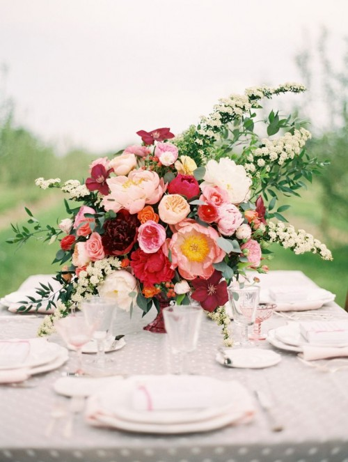 Inspiring Valentine's Day Wedding Centerpieces