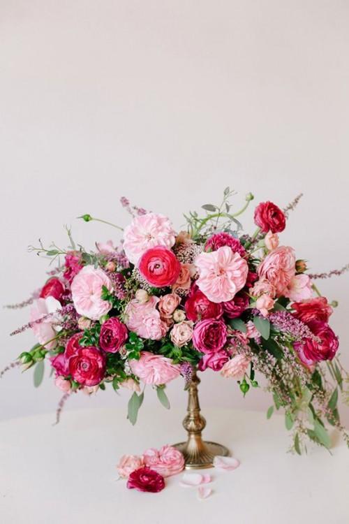 Inspiring valentine s day wedding centerpieces