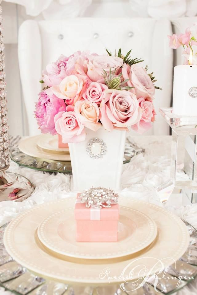 Picture Of inspiring valentines day wedding centerpieces  17