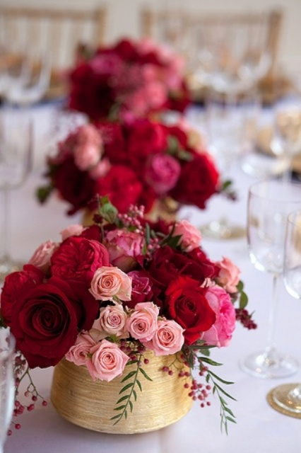 Picture Of inspiring valentines day wedding centerpieces  2