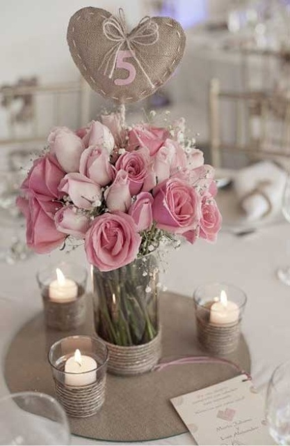 Picture Of inspiring valentines day wedding centerpieces  8