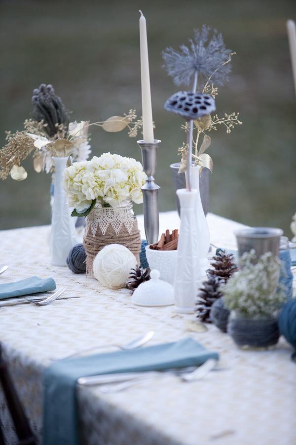 Winter Wedding Centerpiece Ideas Diy : Romantic starry night wedding ideas moody industrial styled