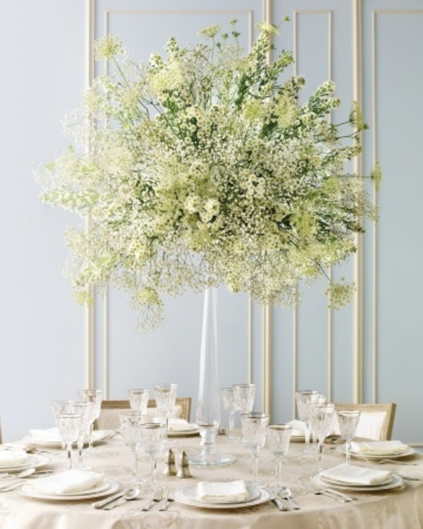 Picture of inspiring winter wedding centerpieces junglespirit Images