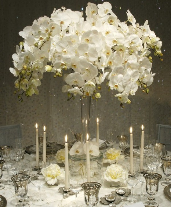 66 Inspiring Winter Wedding Centerpieces - Weddingomania