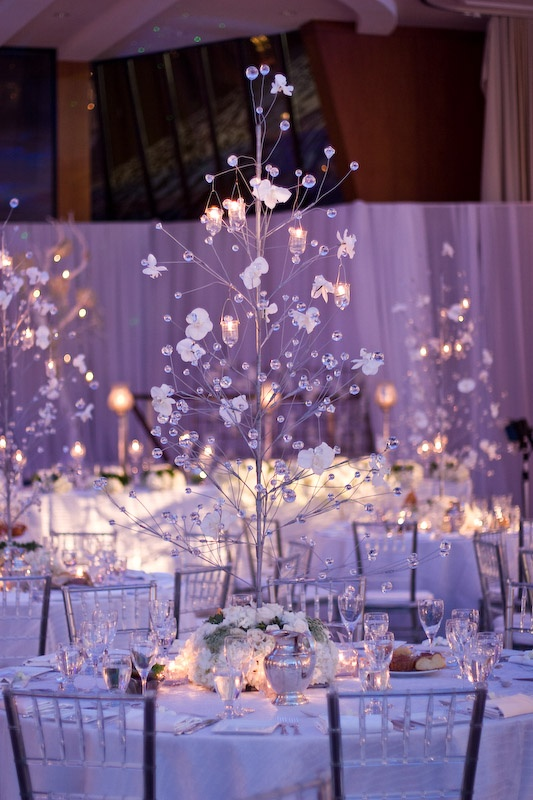 66 Inspiring Winter Wedding Centerpieces - Weddingomania
