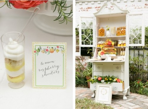 Intimate And Cozy Citrus Wedding Inspiration At Peachtree House