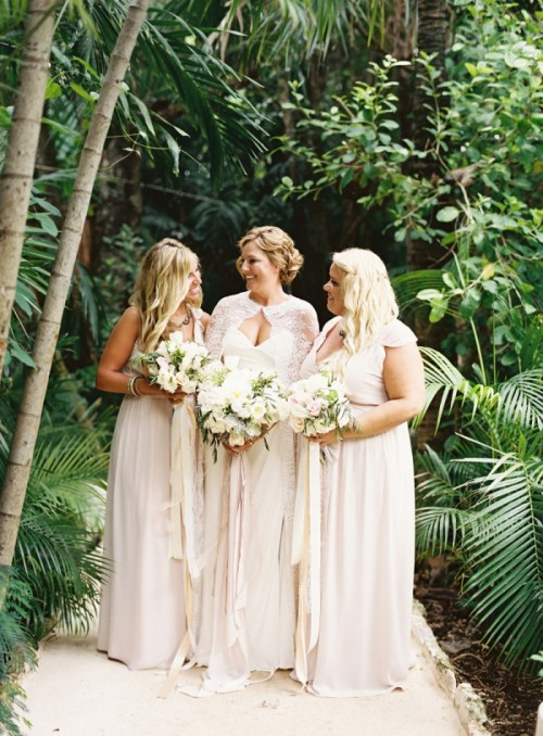 Intimate And Elegant Mexico Destination Wedding