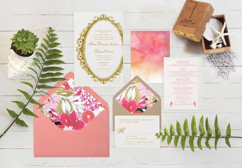 Picture Of intimate and glamorous hawaiian wedding inspiration  1