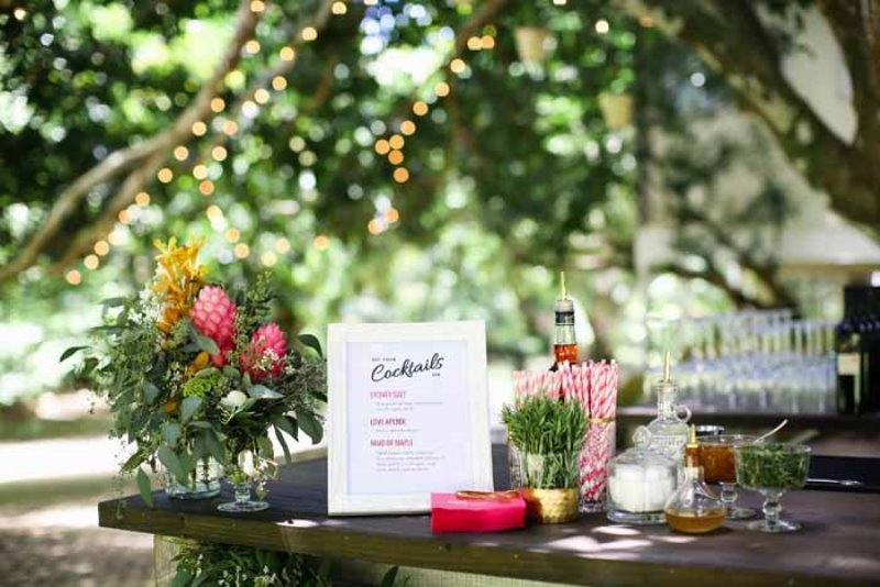 Picture Of intimate and glamorous hawaiian wedding inspiration  15