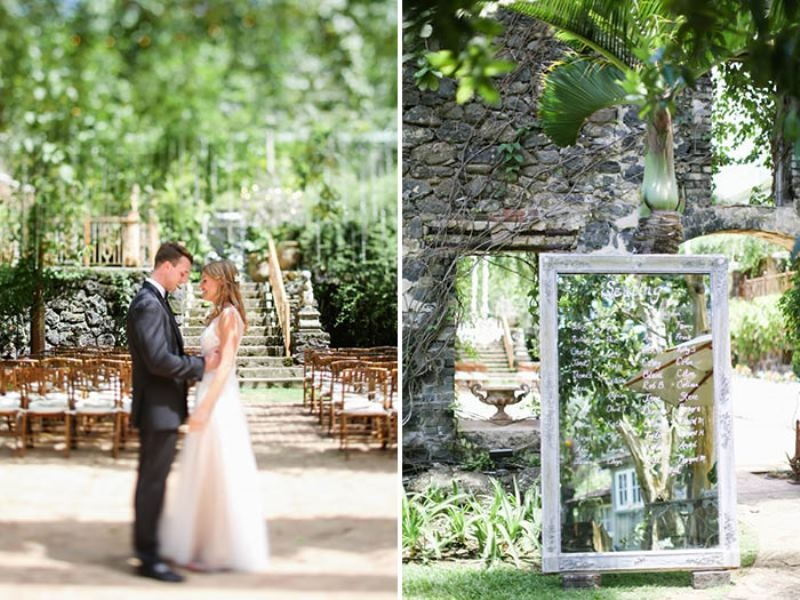Picture Of intimate and glamorous hawaiian wedding inspiration  19