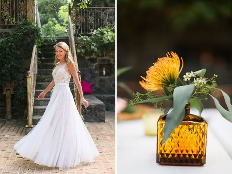 Picture Of intimate and glamorous hawaiian wedding inspiration  28
