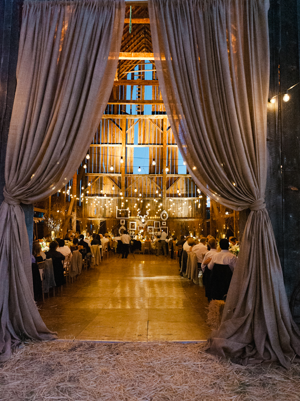 Picture Of Intimate And Lovely Inside Barn Wedding Reception Ideas
