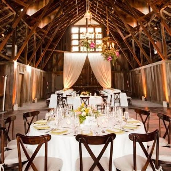 Fall Barn Wedding Ideas: Picture Of Intimate And Lovely Inside Barn Wedding