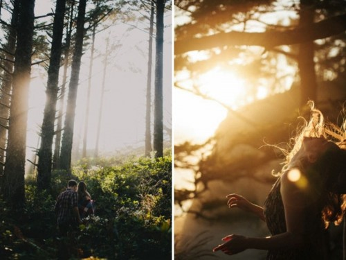Intimate And Natural Engagement Session Inspiration