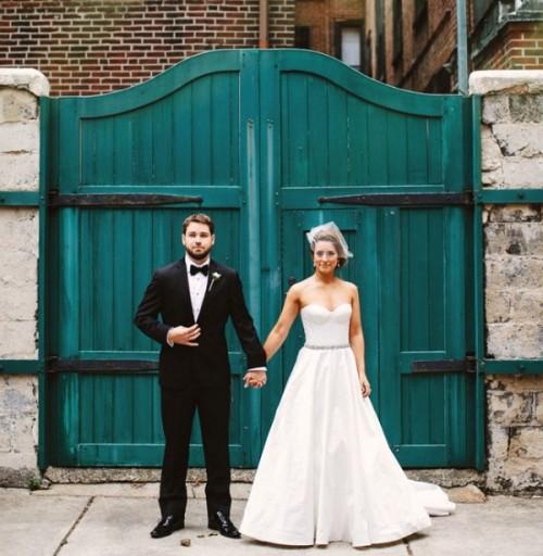 Intimate And Sweet Rustic Inspired Pennsylvania Backyard Wedding