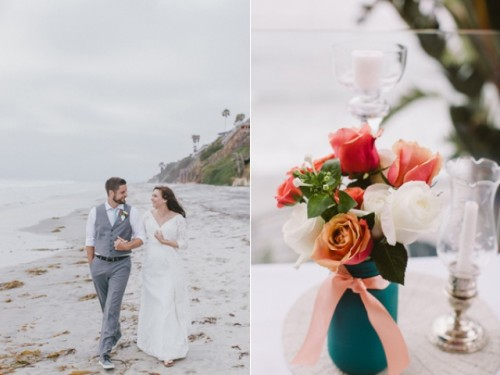 Intimate Beach Wedding With A Laid Back Feeling