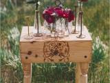 Intimate Breakfast Wedding Inspiration In Colors Of Berries