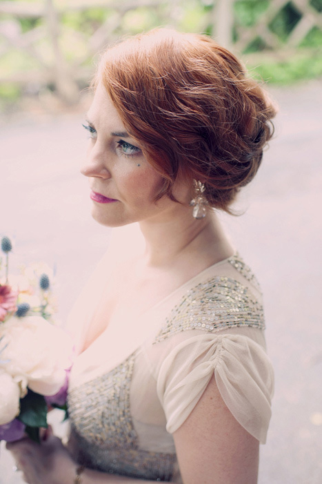 Intimate Central Park Wedding With Retro Touches