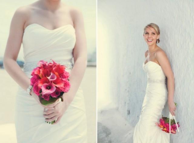 Intimate Destination Wedding On Santorini