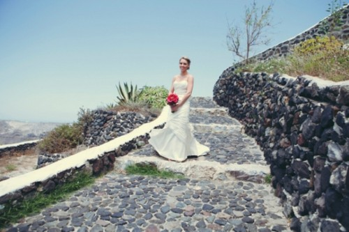 Intimate Destination Wedding On Santorini