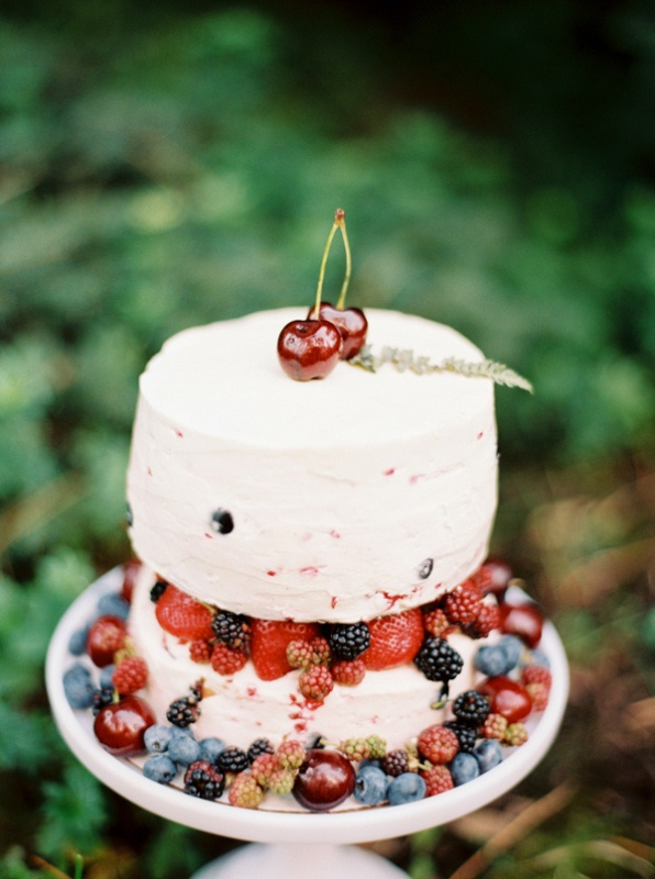 Picture Of intimate ferns and fruit forest wedding inspiration  13