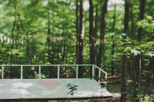 Intimate Handmade Woodland Outdoor Wedding To Get Inspired