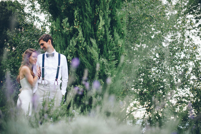 Picture Of intimate tuscan villa destination wedding under olive trees  12