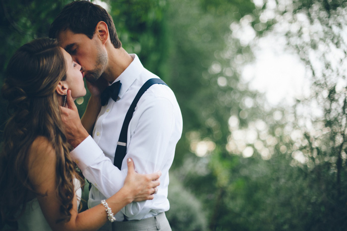 Picture Of intimate tuscan villa destination wedding under olive trees  13