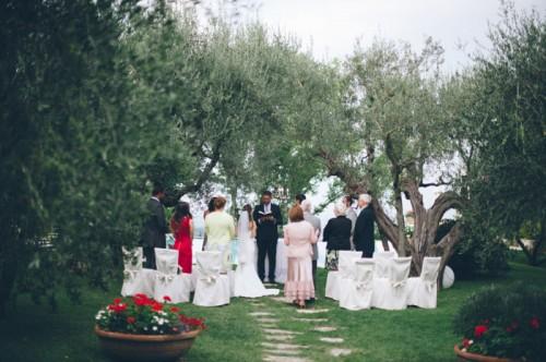 Intimate Tuscan Villa Destination Wedding Under Olive Trees