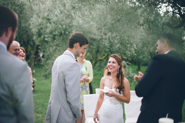 Picture Of intimate tuscan villa destination wedding under olive trees  18