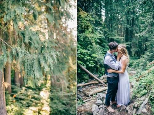 Intimate Vintage Inspired Forest Wedding
