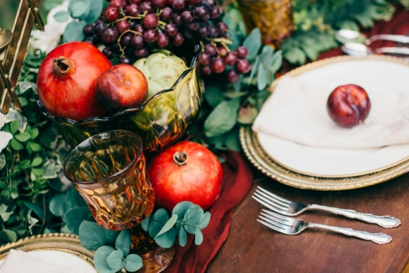Picture Of intimate vintage inspired forest wedding  6