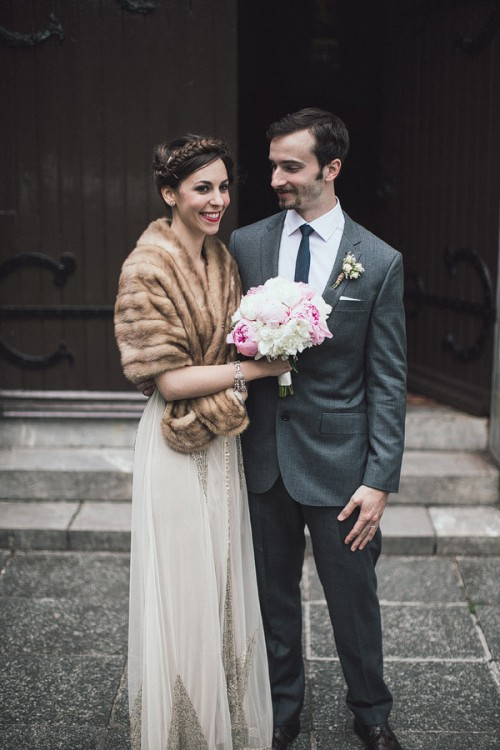 Intimate Vintage Inspired Wedding In Ireland