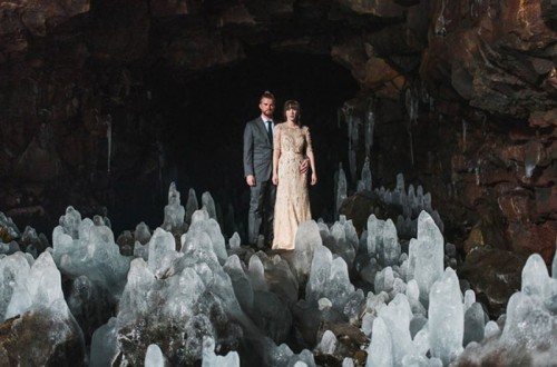 Intimate Vow Exchange On Iceland Honeymoon