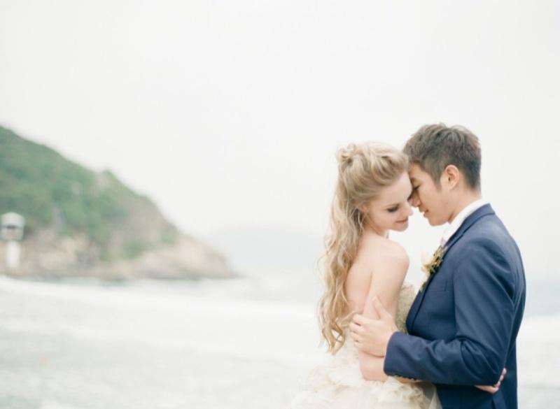Intricate Sea Life Inspired Wedding Dresses By Vivian Luk